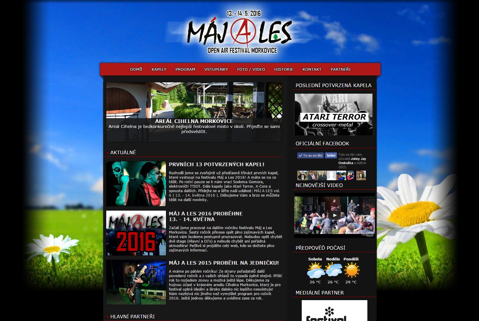 Maj a Les webdesign by crepish
