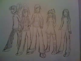 The deviantART Friends by Mashirosakura