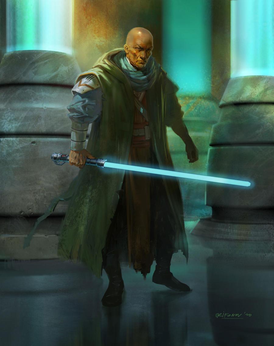 Jedi Knight by ivelin on DeviantArt