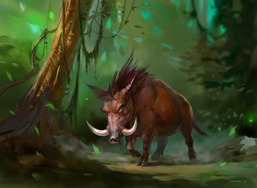 Wild Boar by ivelin on DeviantArt