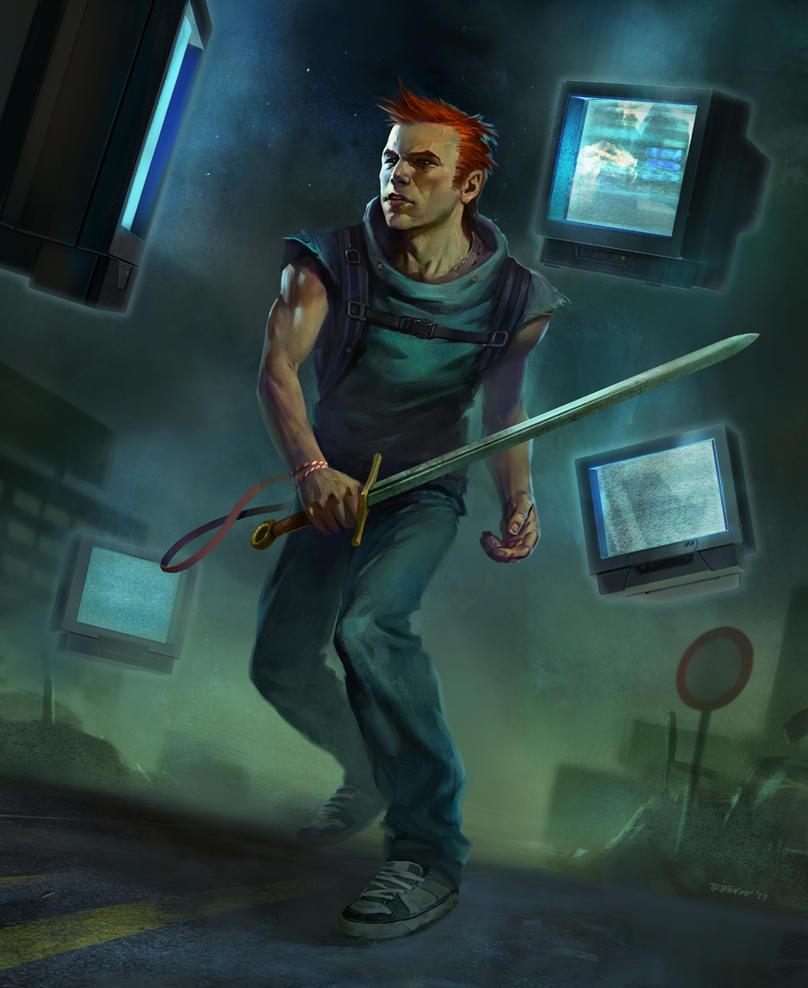 Urban Warrior by ivelin