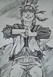 Naruto Uzumaki  by Johnx13