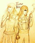 Inter Nos: Natsuki and Shizuru by ElizavetaH213