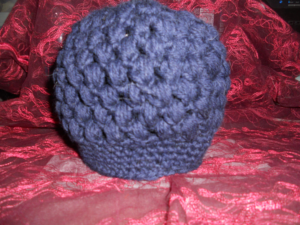 Crochet Stitches Video Puff : Crochet Puff stitch Beanie by venomf on DeviantArt