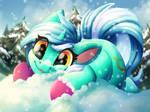 Snowy Lyra