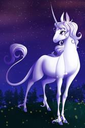 The Last Unicorn - Lunaschildofnight Comm