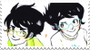 JakeJane Stamp by ClassicAmy