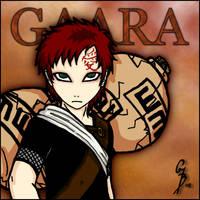 Gaara -Glare like a Baslisk- by GaarasBabe