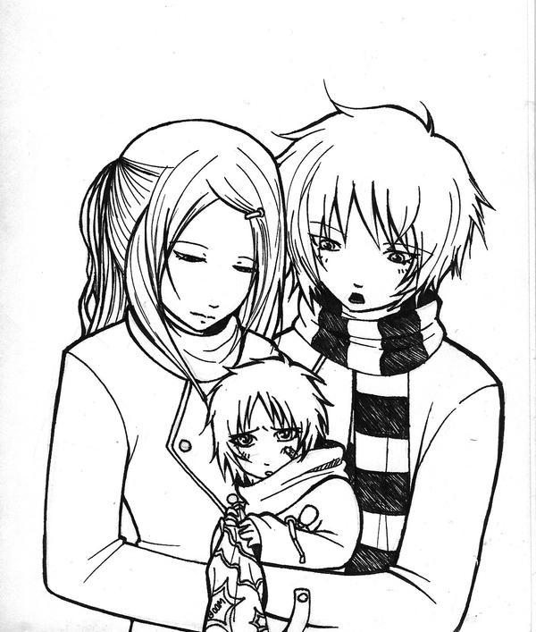 SasoDei Family -LineArt- by GaarasBabe on DeviantArt