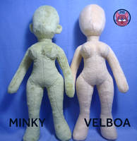 Female Human Body Pattern to Sale by TrashKitten-Plushies