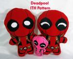 Deadpool ITH Pattern by TrashKitten-Plushies