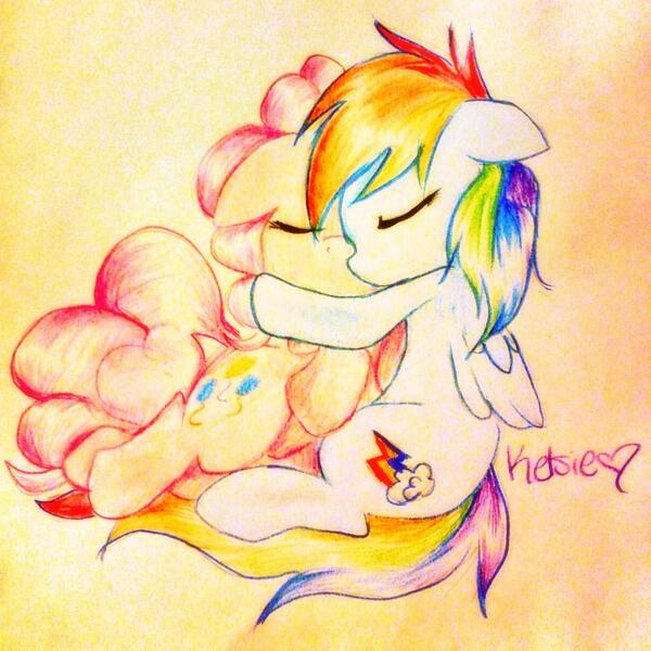 Hugs are nice by KelsiePie