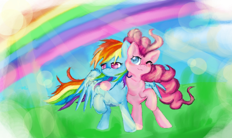 My pretty rainbow by KelsiePie