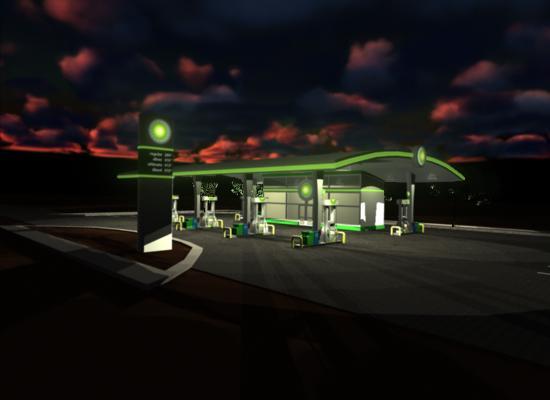 BP Gas Station Concept by penguinluv4ever on DeviantArt