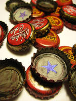 Fallout Caps by penguinluv4ever