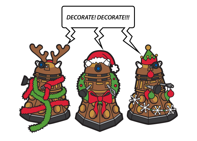 DECORATE!!! Daleks by penguinluv4ever