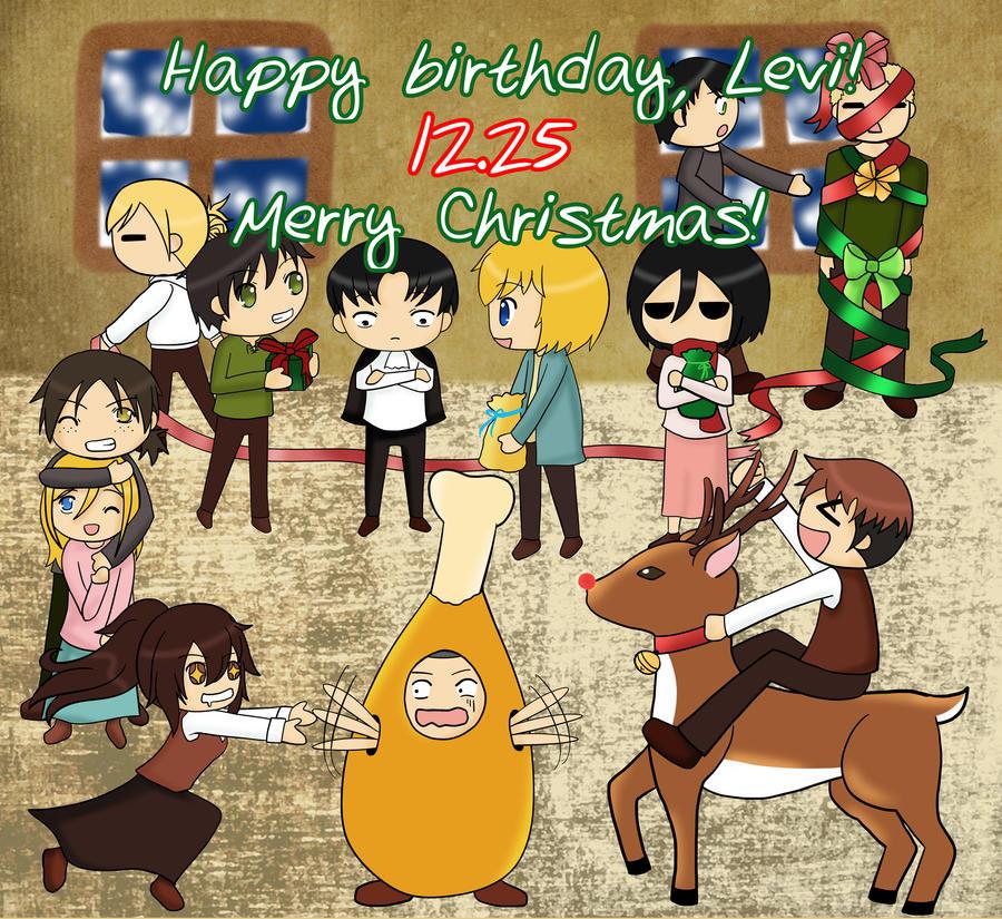Attack on Titan Happy Birthday Levi Happy Birthday Levi Heichou