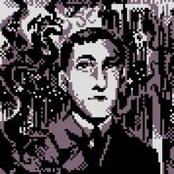 HP.Lovecraft [Pixel Portrait]