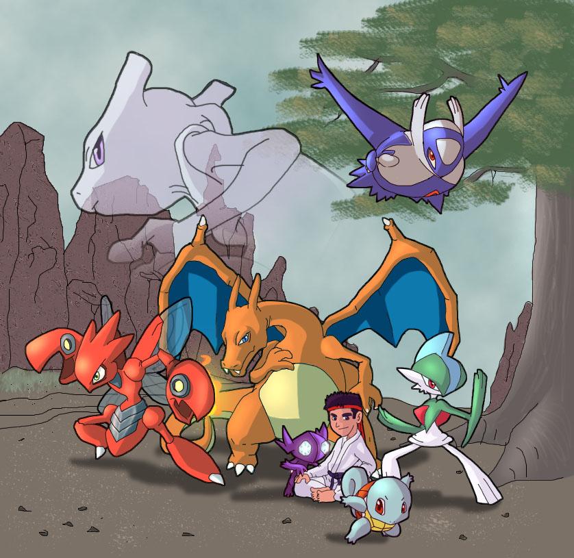 pokemon by Mast3r-sword