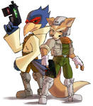 some star fox
