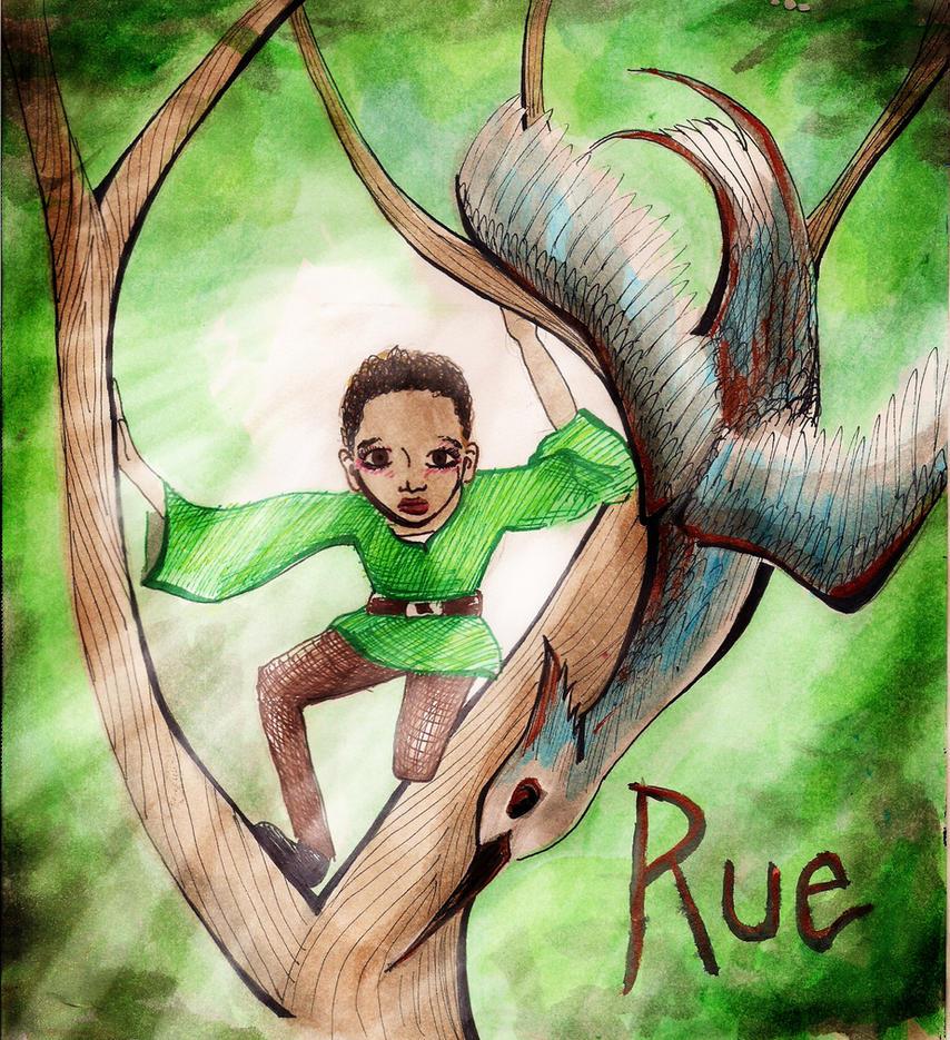 Rue- The Hunger Games by aspiring-x
