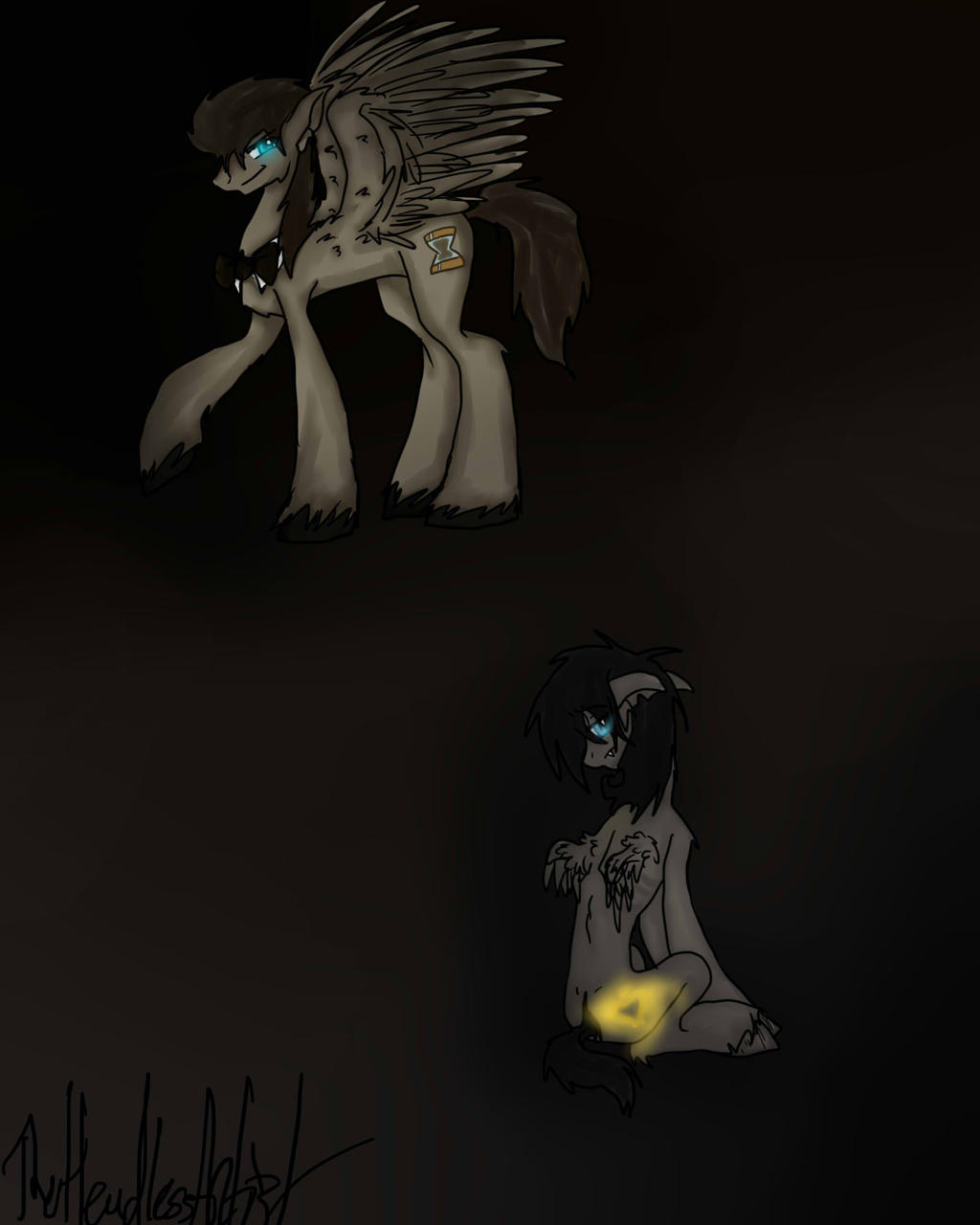 Discord Whooves And Zerum by Fowl-Prince on DeviantArt