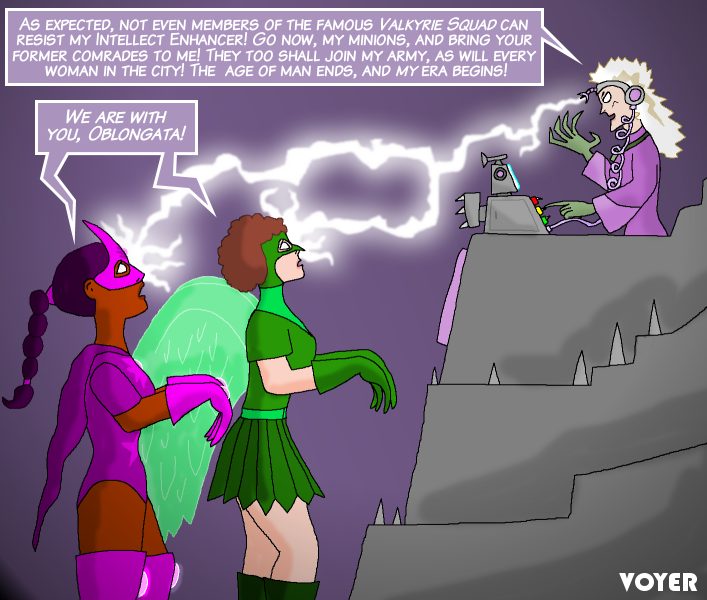 Heroines MCed by villainess