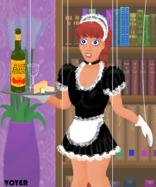 MCed Marionette French Maid by hypnovoyer