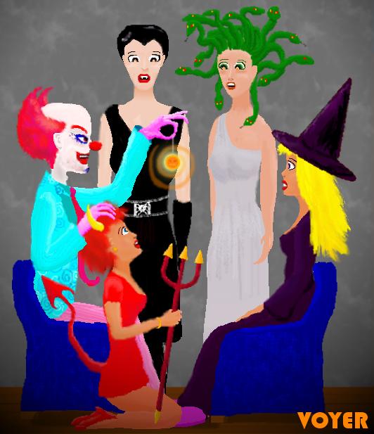 Halloween Hypnosis by hypnovoyer