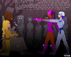 Valkyrie Squad: Thralls of the Zombiemaster by hypnovoyer