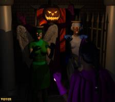 Valkyrie Squad: Halloween by hypnovoyer