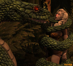 Hypnosnake and Jungle Girl 3D