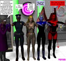 Valkyrie Squad: Sleepwalkers by hypnovoyer