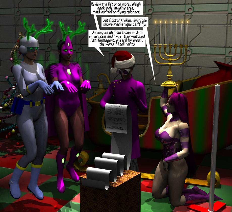 Valkyrie Squad: Holiday Hijack by hypnovoyer