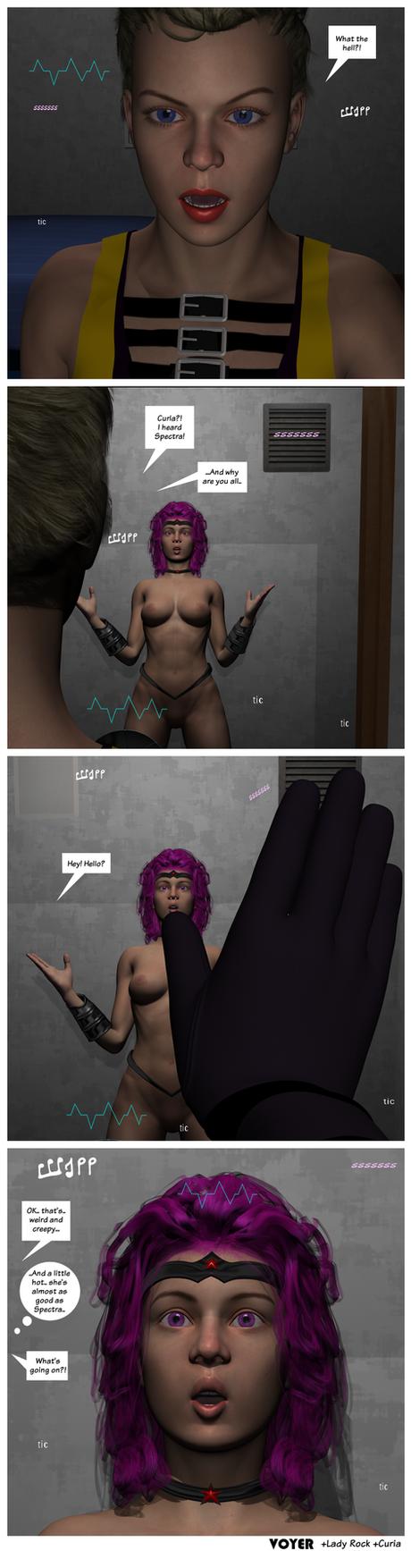 Dollmaker and Lady Rock 06 by hypnovoyer