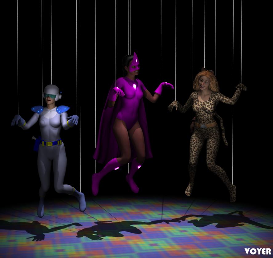 Valkyrie Squad: Marionettes by hypnovoyer