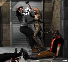 Valkyrie Squad: Ocelot Girl Triumphant by hypnovoyer