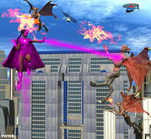 Valkyrie Squad: Midair Battle by hypnovoyer