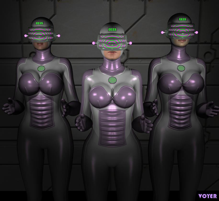 Robo Gals by hypnovoyer