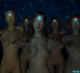 Techno-zombies by hypnovoyer