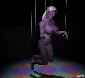 Commission: Drow Marionette by hypnovoyer