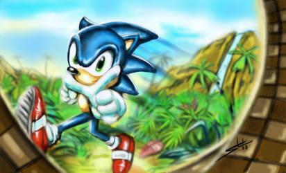 Sonic by Sensational22