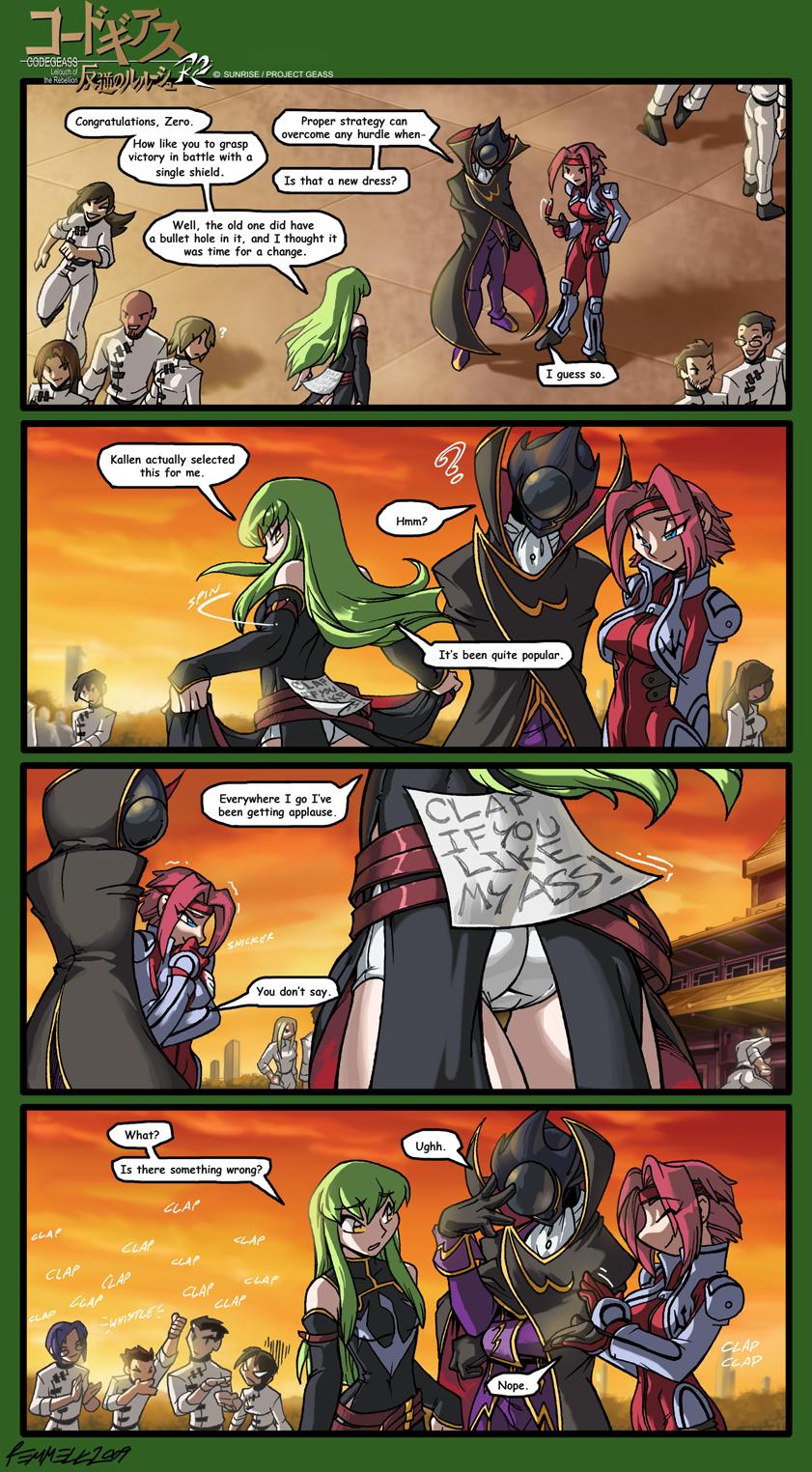 L'image drôle de la journée - Page 2 Code_Geass___That_Dress_by_FoxxFireArt