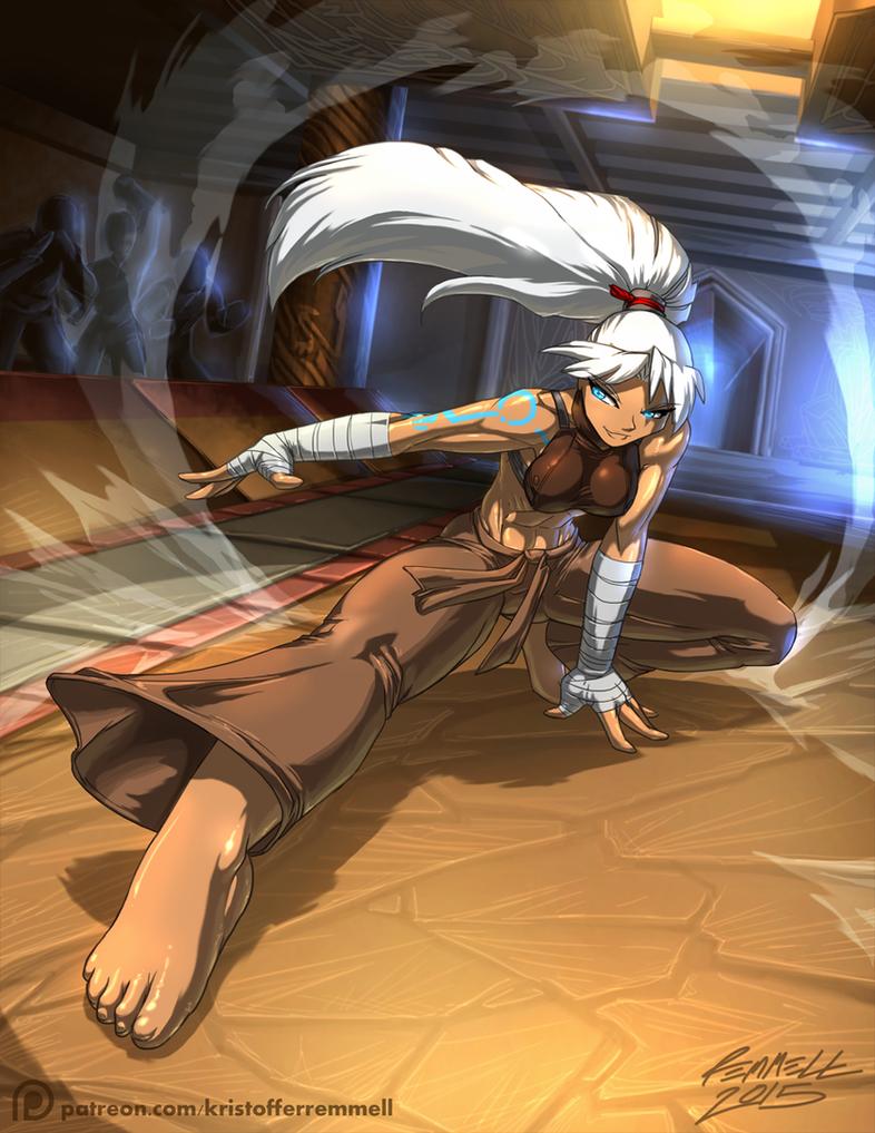 Ashien the Shiro'onryou by FoxxFireArt
