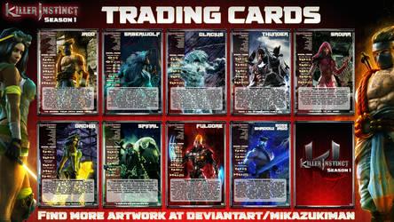 Killer Instinct Season 1 Trading Cards by MikazukiMAN