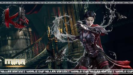 Killer Instinct Wallpaper-Mira-2 by MikazukiMAN