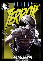 Mortal Kombat XL-Trading Card-#2 TarkatanXenomorph by MikazukiMAN