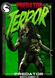 Mortal Kombat XL-Trading Card- #3 Predator by MikazukiMAN