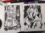Brush Pen Sketches :3