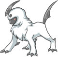 Chibi Absol by NeverlessHearts